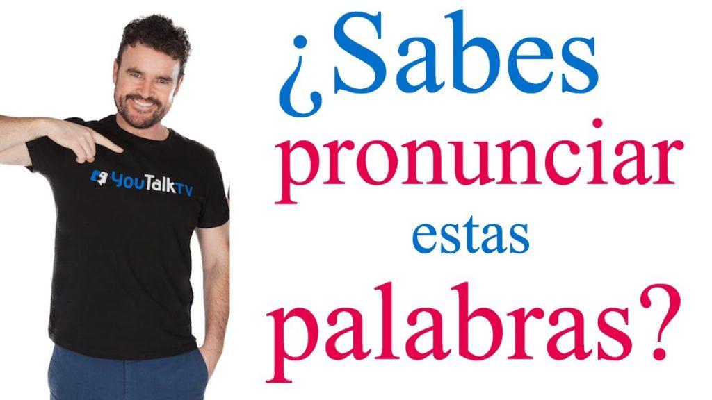 palabras difíciles de pronunciar en inglés / ejercicios de pronunciación en inglés