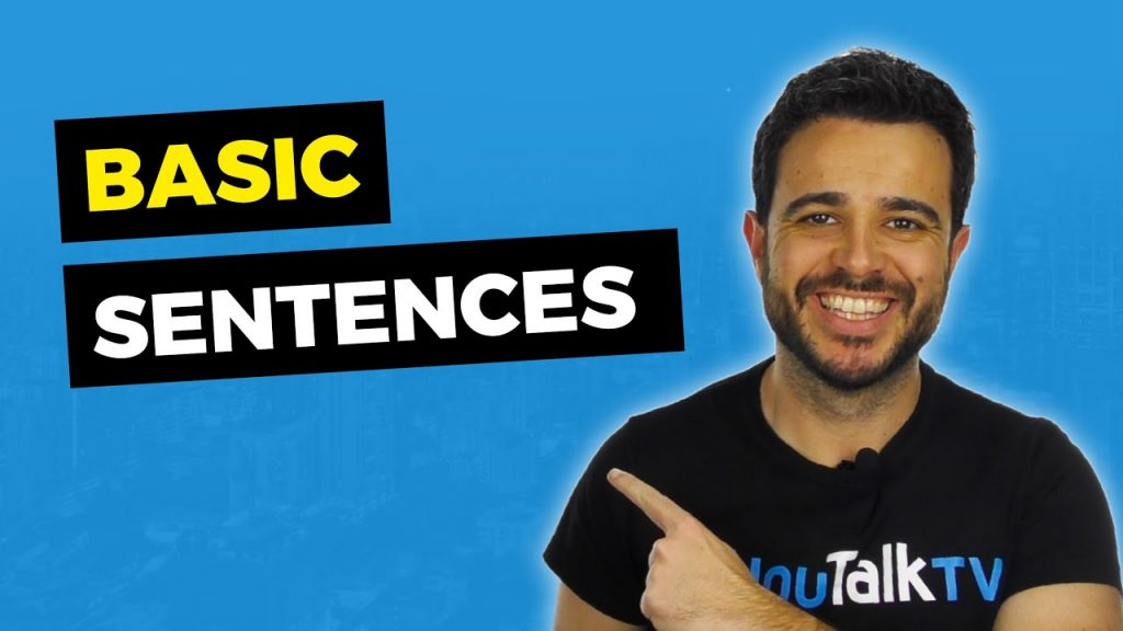frases de inglés básico