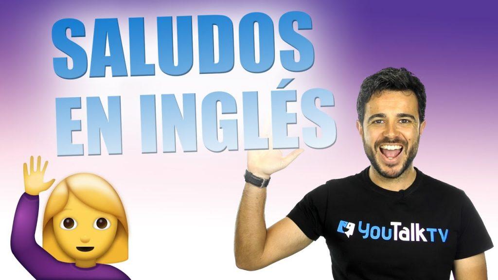 saludar en inglés