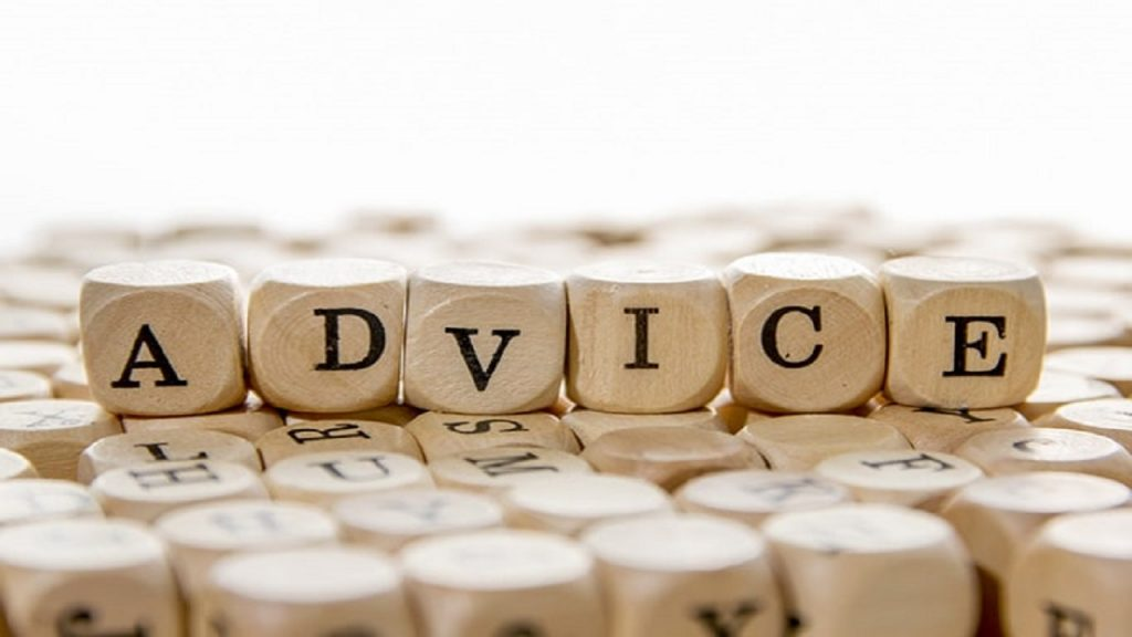 pedir consejos en inglés