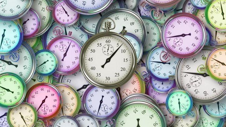 reloj en inglés/decir la hora en inglés