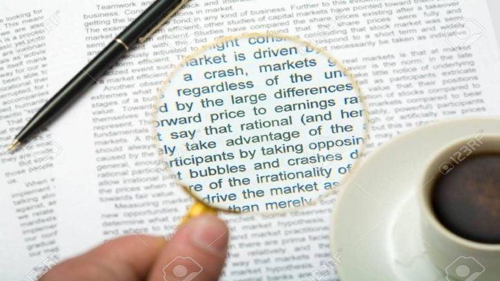 Mala vista inglés / Vocabulario mala vista inglés