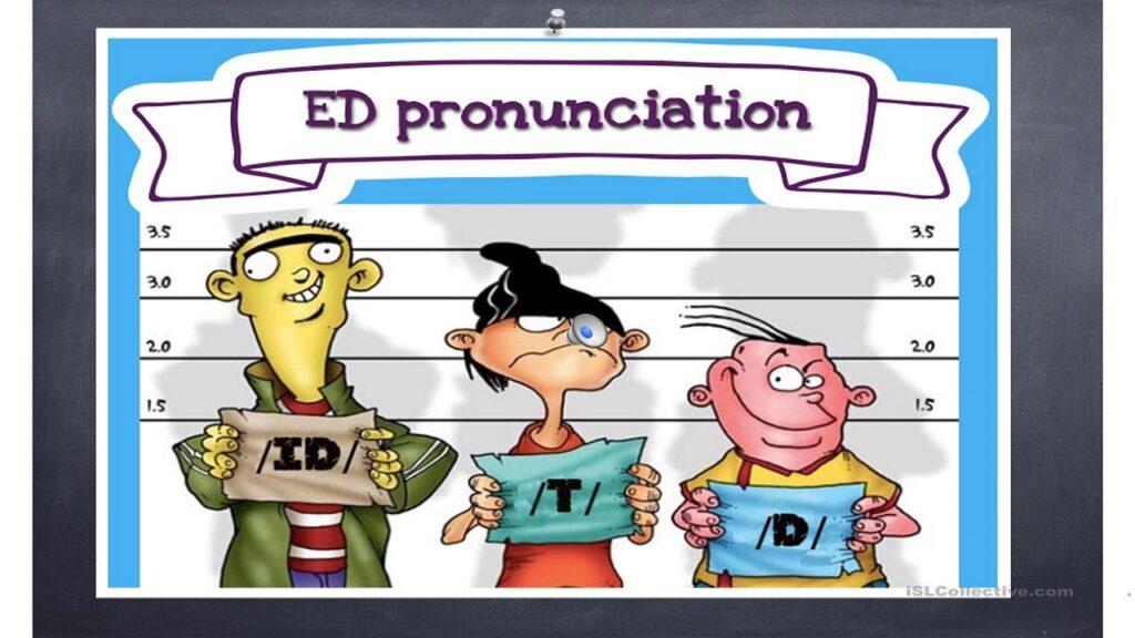 PRONUNCIACION ED EN INGLES / PRONUNCIAR ED EN INGLÉS