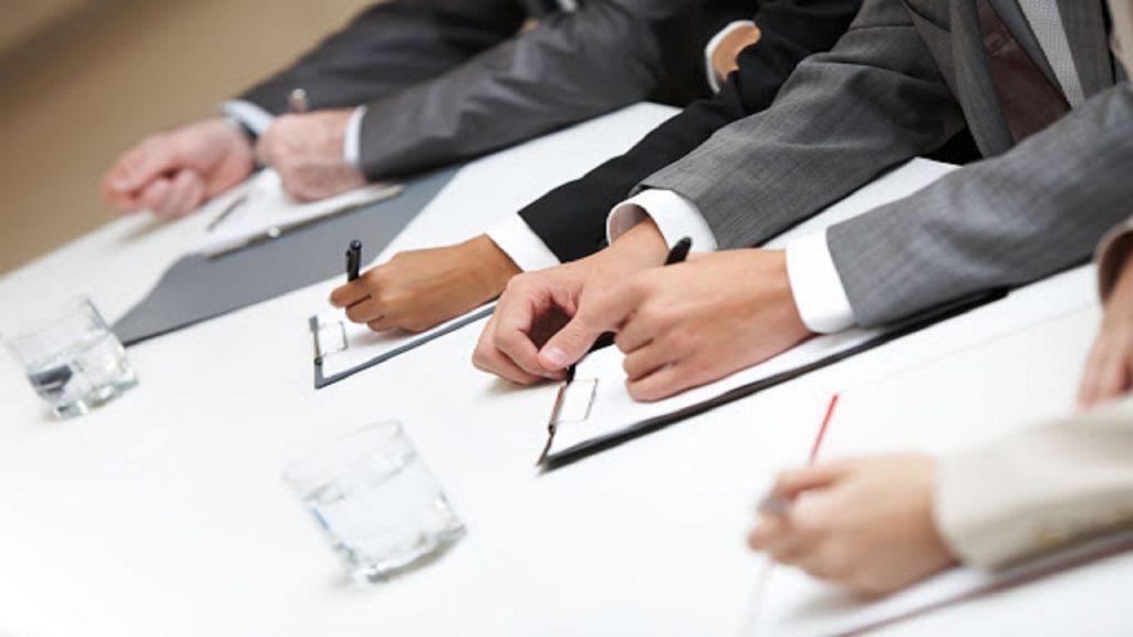reunión en inglés / reunión de trabajo en inglés