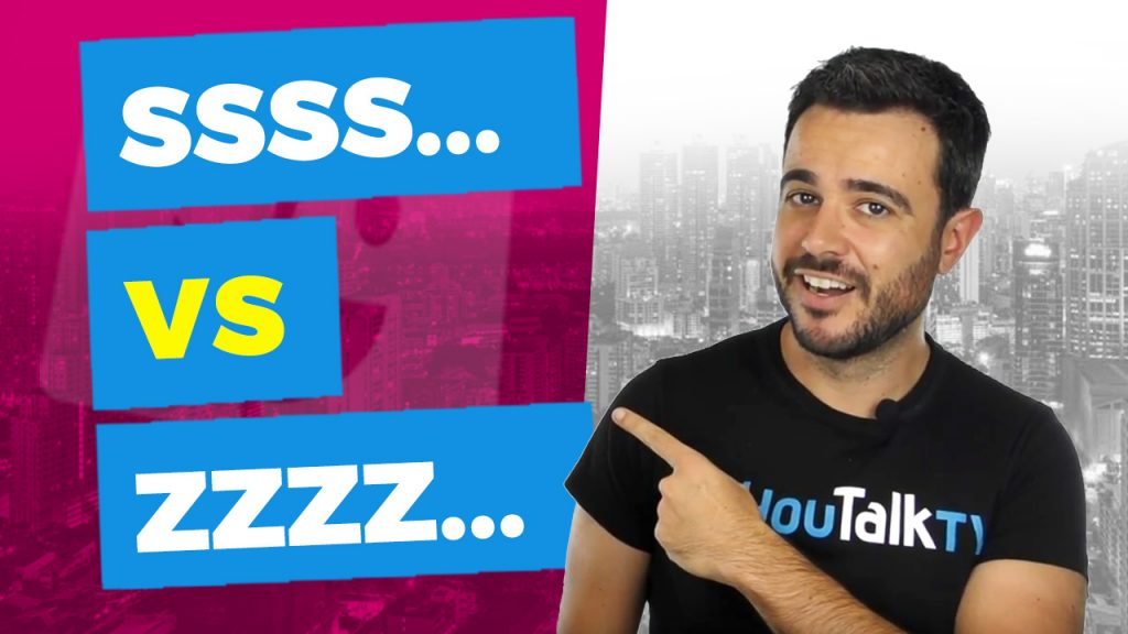 Mejora tu pronunciación en Inglés: sonidos «S»y «Z»: La portada del vídeo de YouTube de Carlos