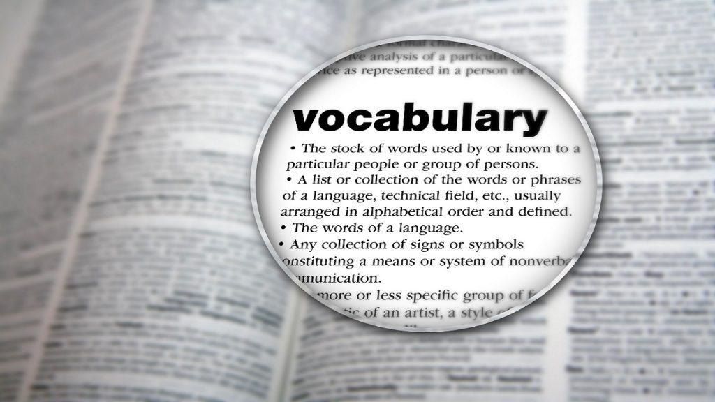 Vocabulario en inglés B1 muy fácil