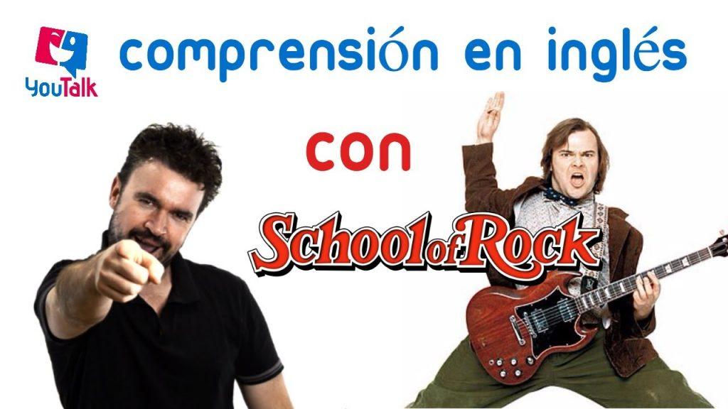 imagen para el artículo aprende inglés con School of Rock