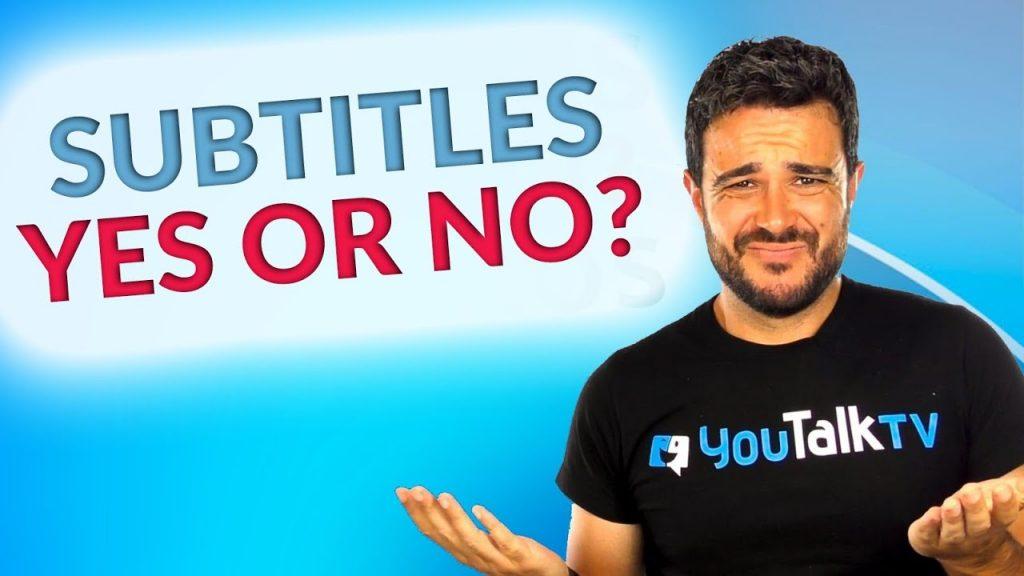Películas y series en inglés con subtítulos ¿Sí o no? :Portada del vídeo de Carlos de YouTube
