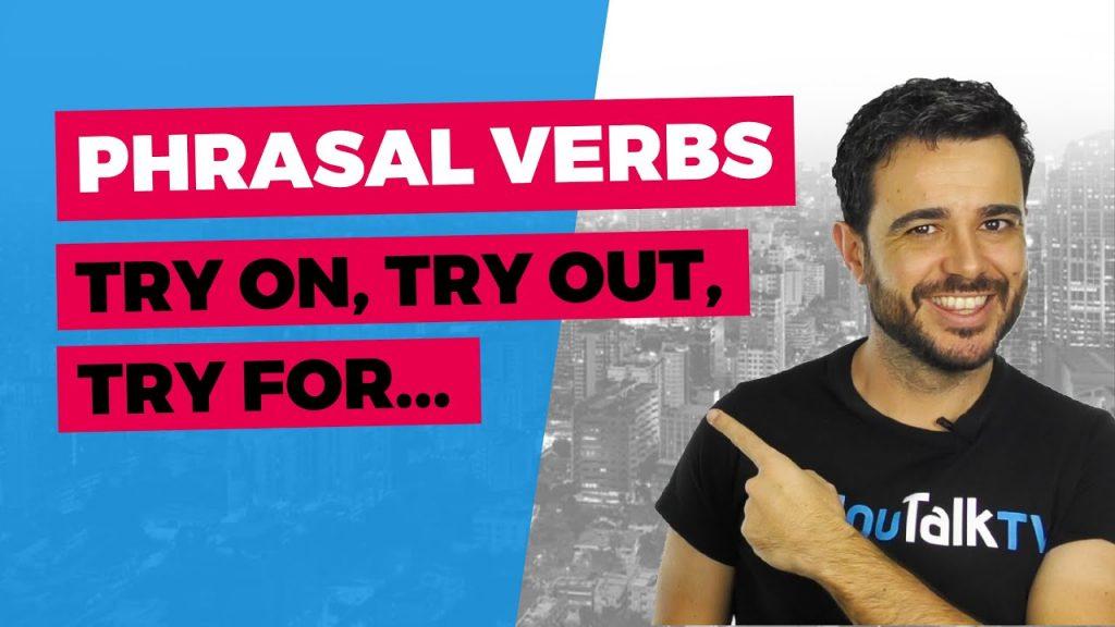 Cómo utilizar To Try en inglés: Portada del vídeo de YouTube de Carlos