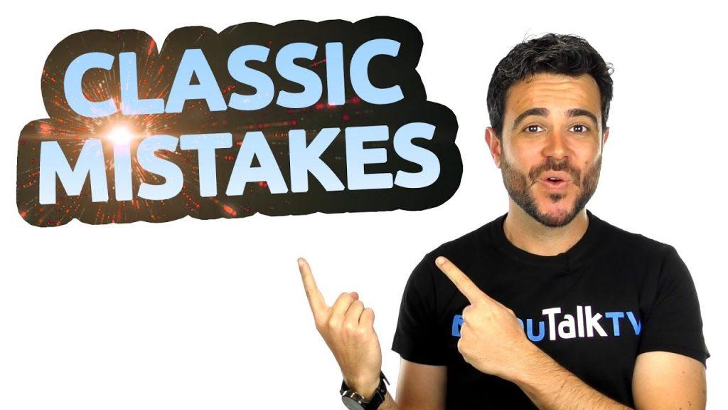 3 errores clásicos en inglés