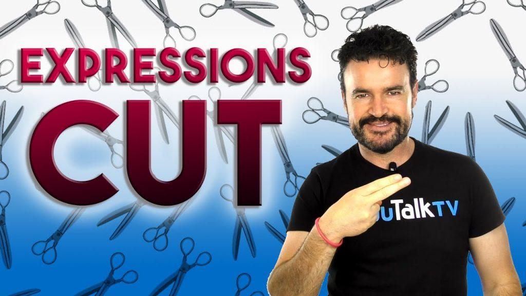 imagen para ilustra el artículo sobre expresiones con el verbo to cut