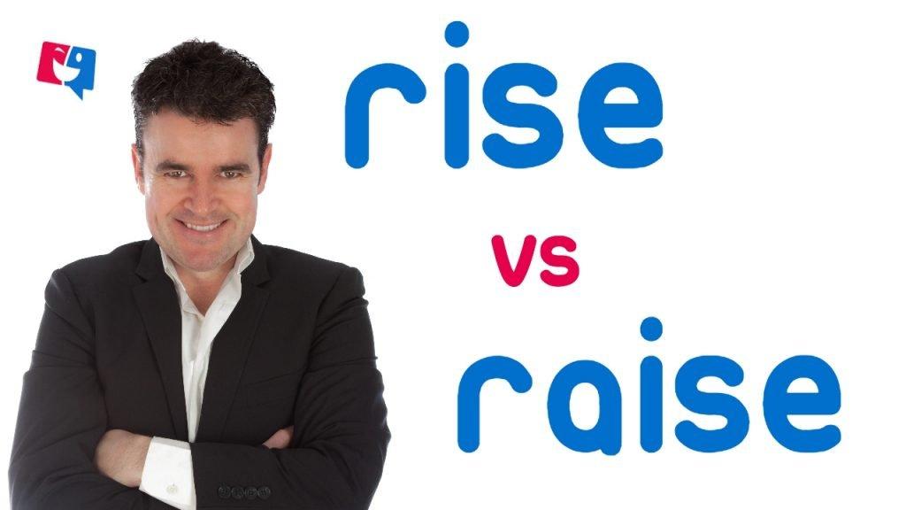 imagen para ilustrar el artículo sobre las diferencias entre rise y raise en inglés
