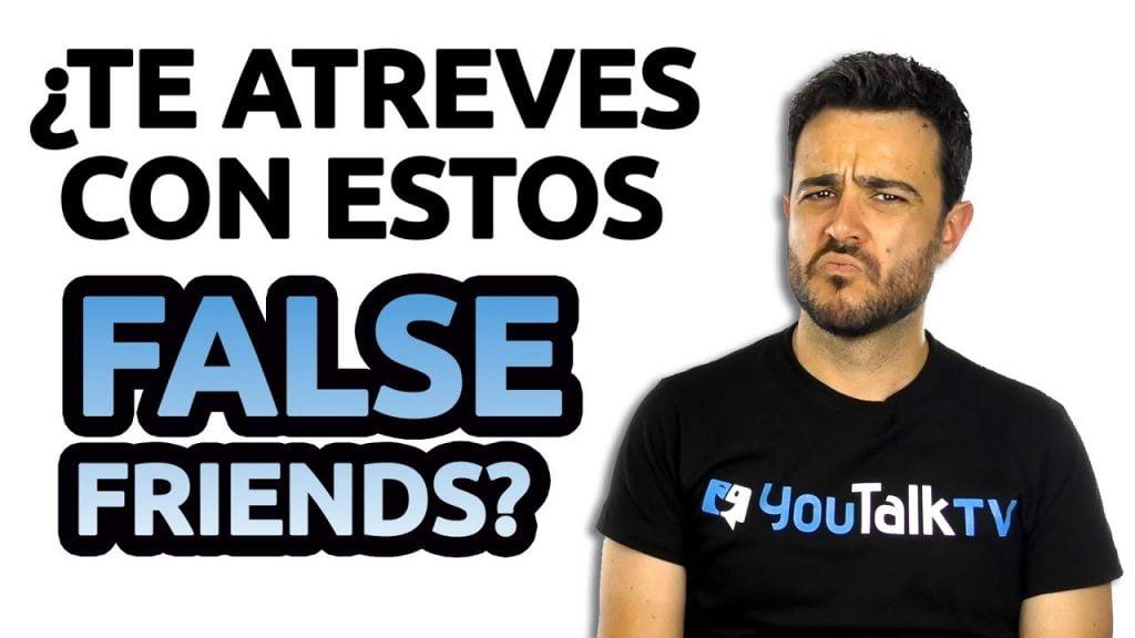 Carlos explica lso false friends más comunes en inglés