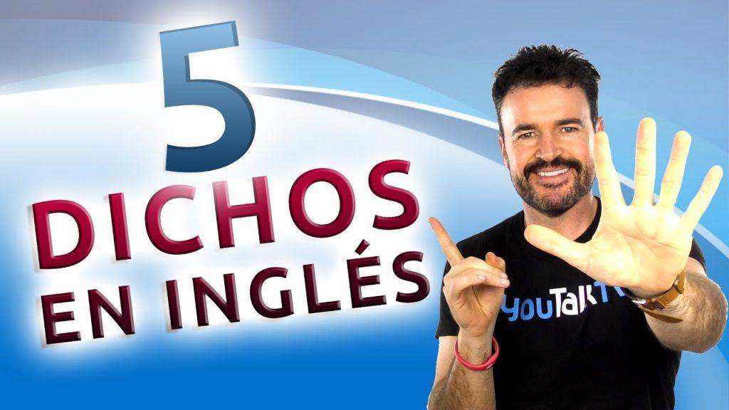 5 dichos en Inlgés ¿Cómo decirlos correctamente?:Portada del vídeo de YouTube de Fran