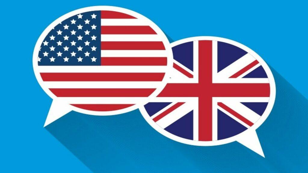 inglés de América y Europa / pronunciación del inglés en América