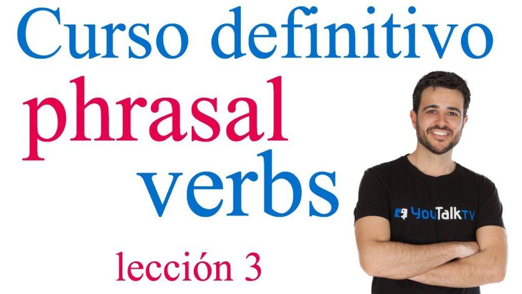 vocabulario phrasal verbs