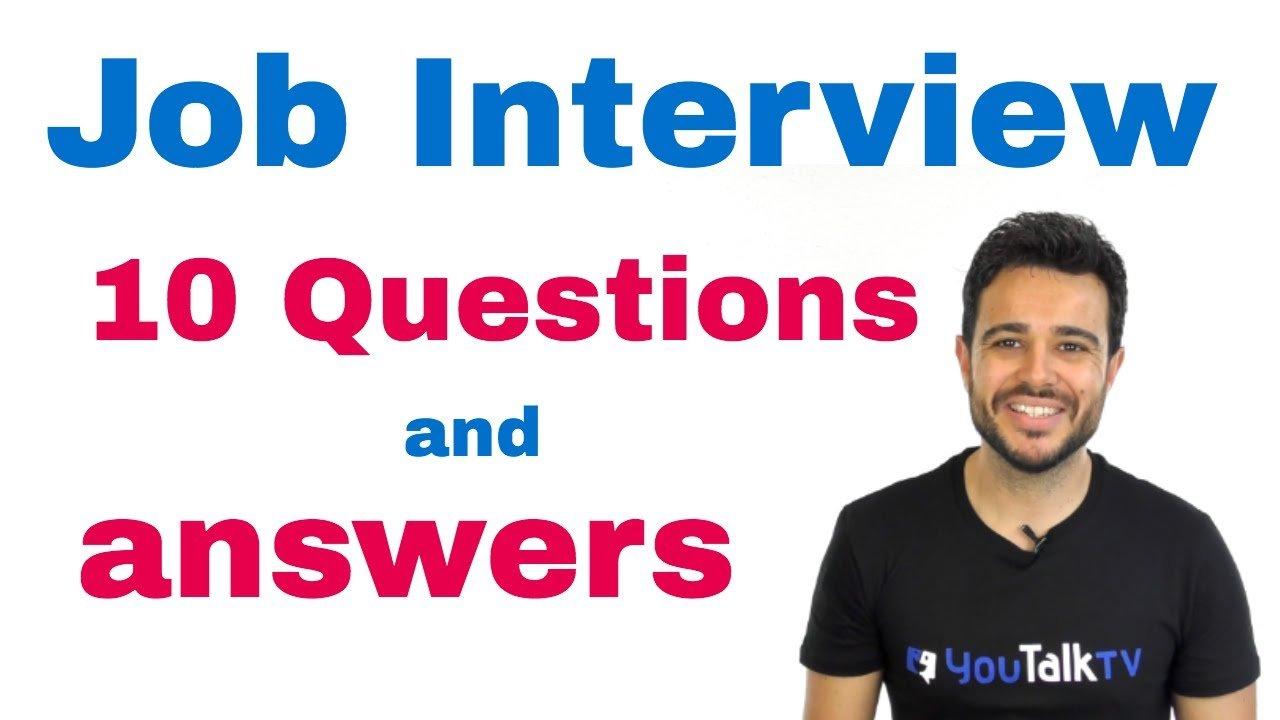 Como Preparar Entrevista De Trabajo En Ingles Preguntas Basicas
