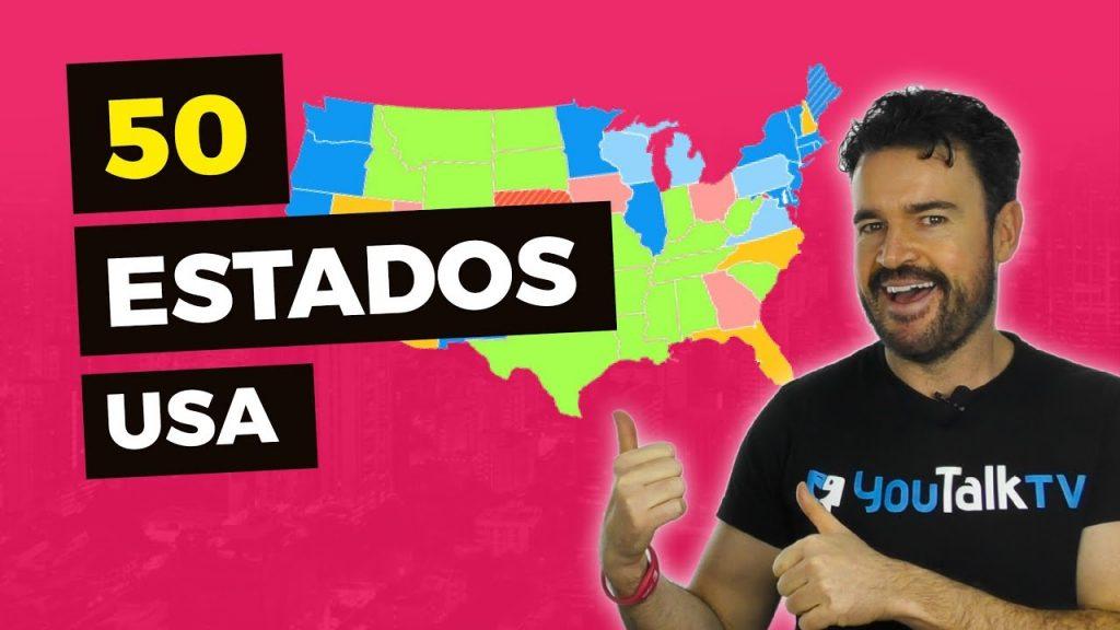 pronunciar estados de USA en inglés / pronunciación correcta de estados de USA