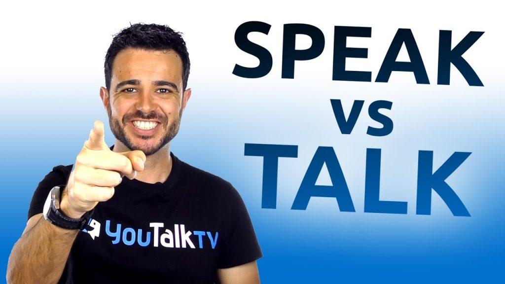 Foto para ilustrar el artículo sobre los verbos en ingles to speak y to talk
