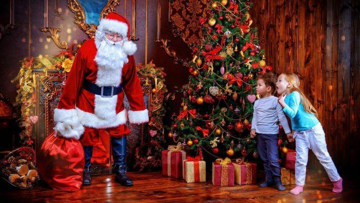 traducción Santa Claus