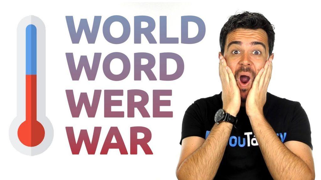 Carlos explica cómo distinguir y pronunciar correctamente world, word, were, war